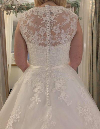 back dress detail